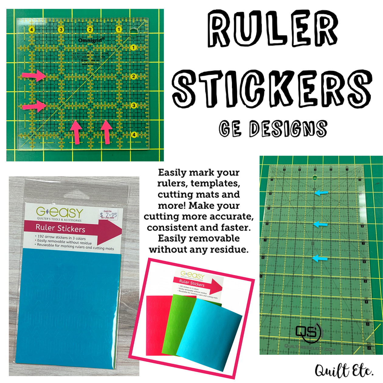 Ruler Stickers