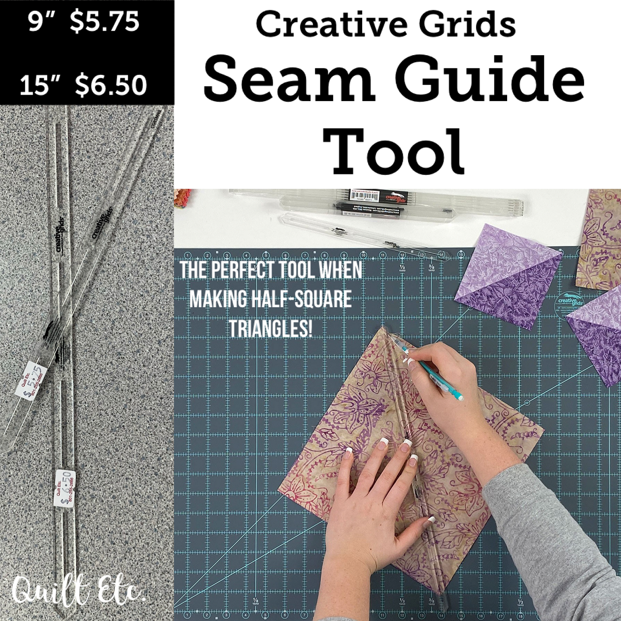 Creative Grids Seam Guide Tools