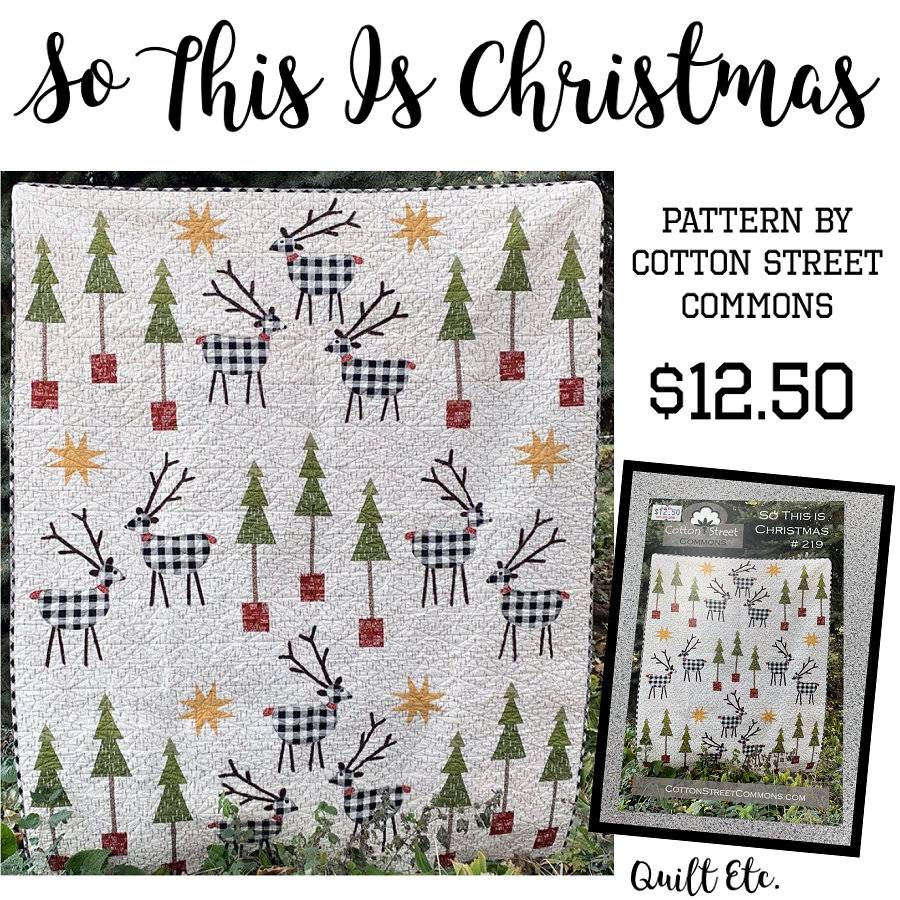 So This Is Christmas Pattern