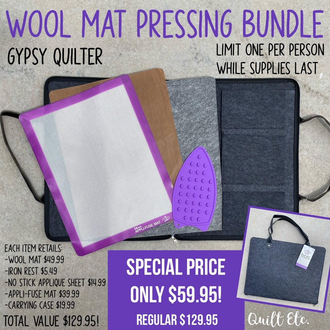 Wool Mat Pressing Bundle