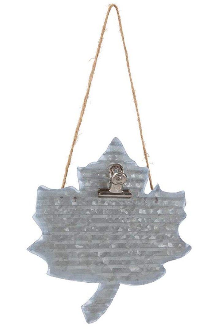 Metal Hanger Leaf
