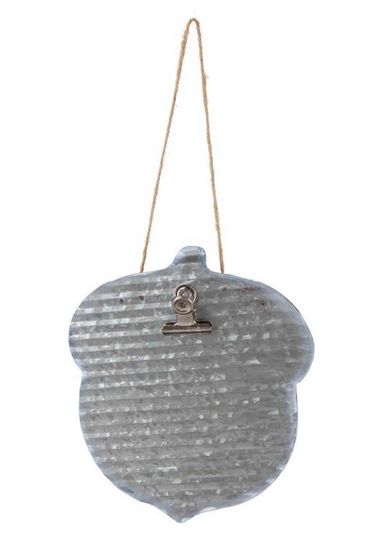 Metal Hanger Acorn