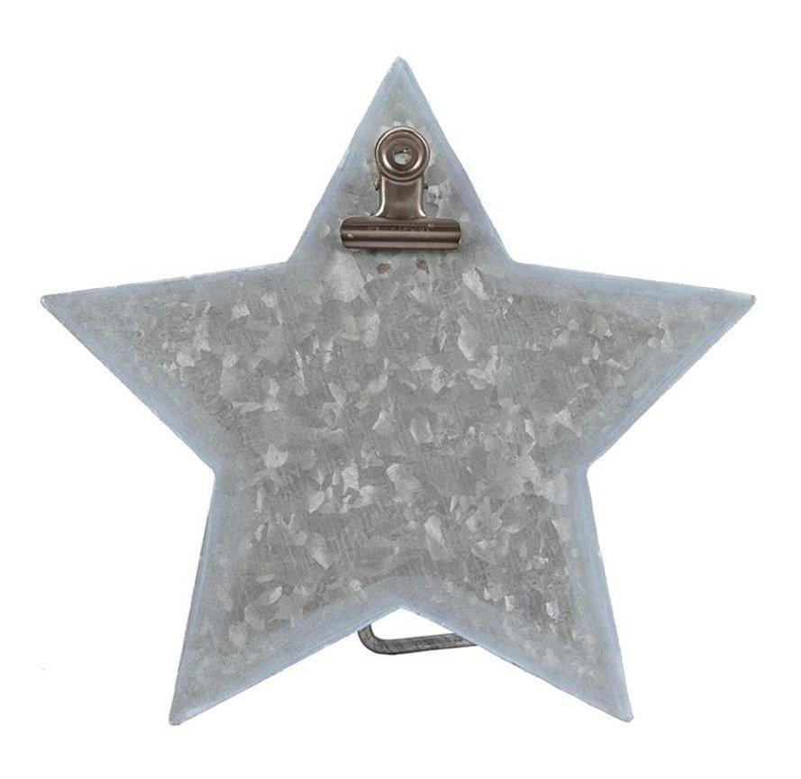 Metal Easel Star