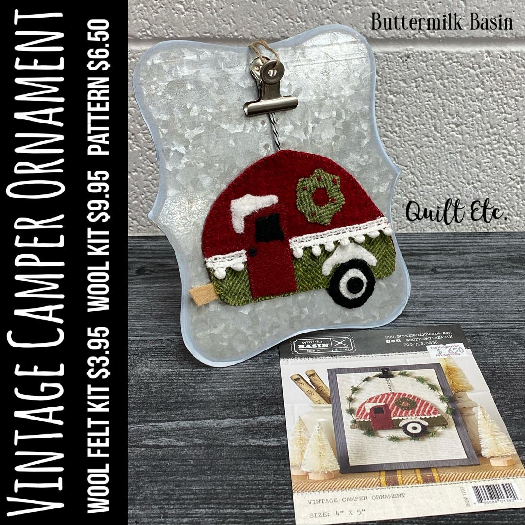 Vintage Camper Ornament Kit