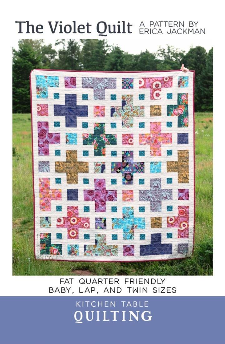 The Violet Quilt Paper Pattern