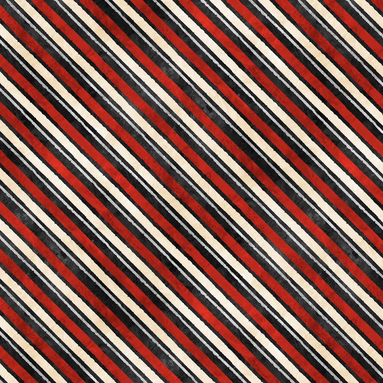 Time For Hot Cocoa - Diagonal Stripe 30528-939 Black