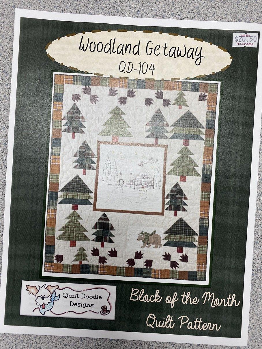 Woodland Getaway Pattern