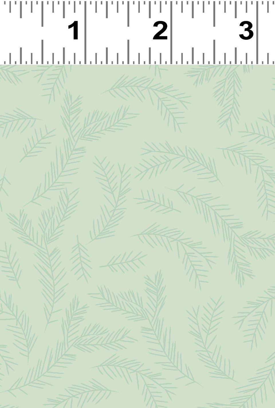 Yuletide Pine Boughs Y3286-109 Light Mint