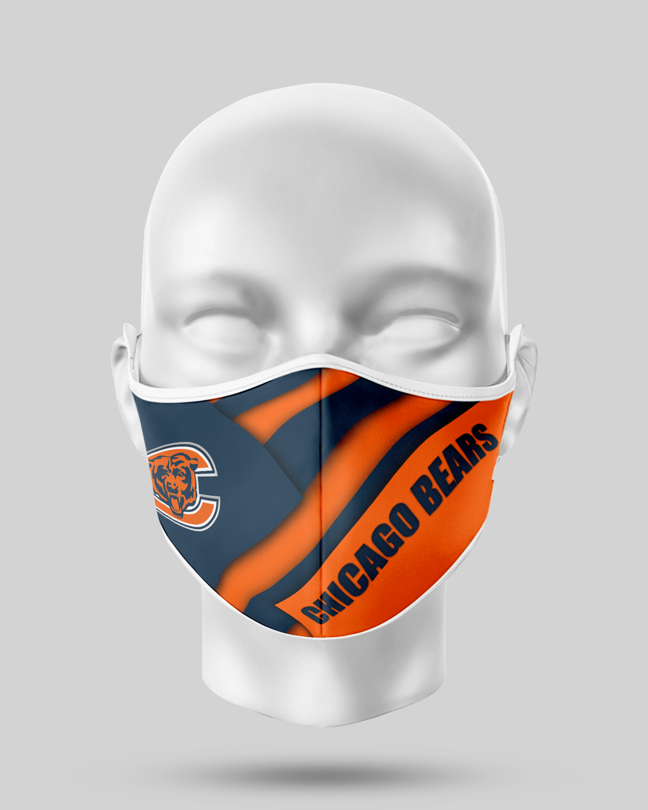 Chicago Bears  Face Shield1