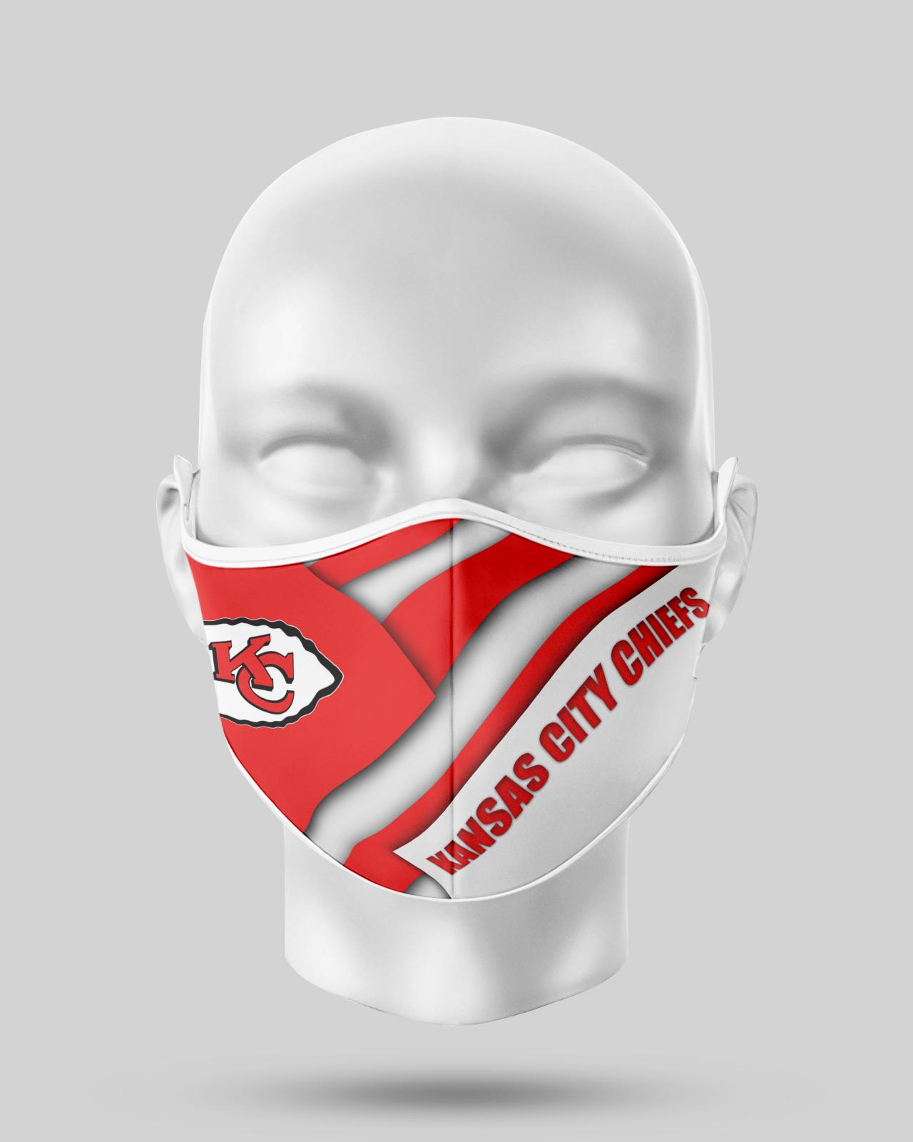 Kansas City Chiefs  Face Shield1