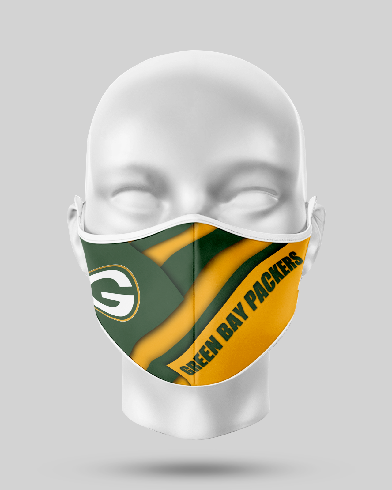 Green Bay Packers Face Shield1