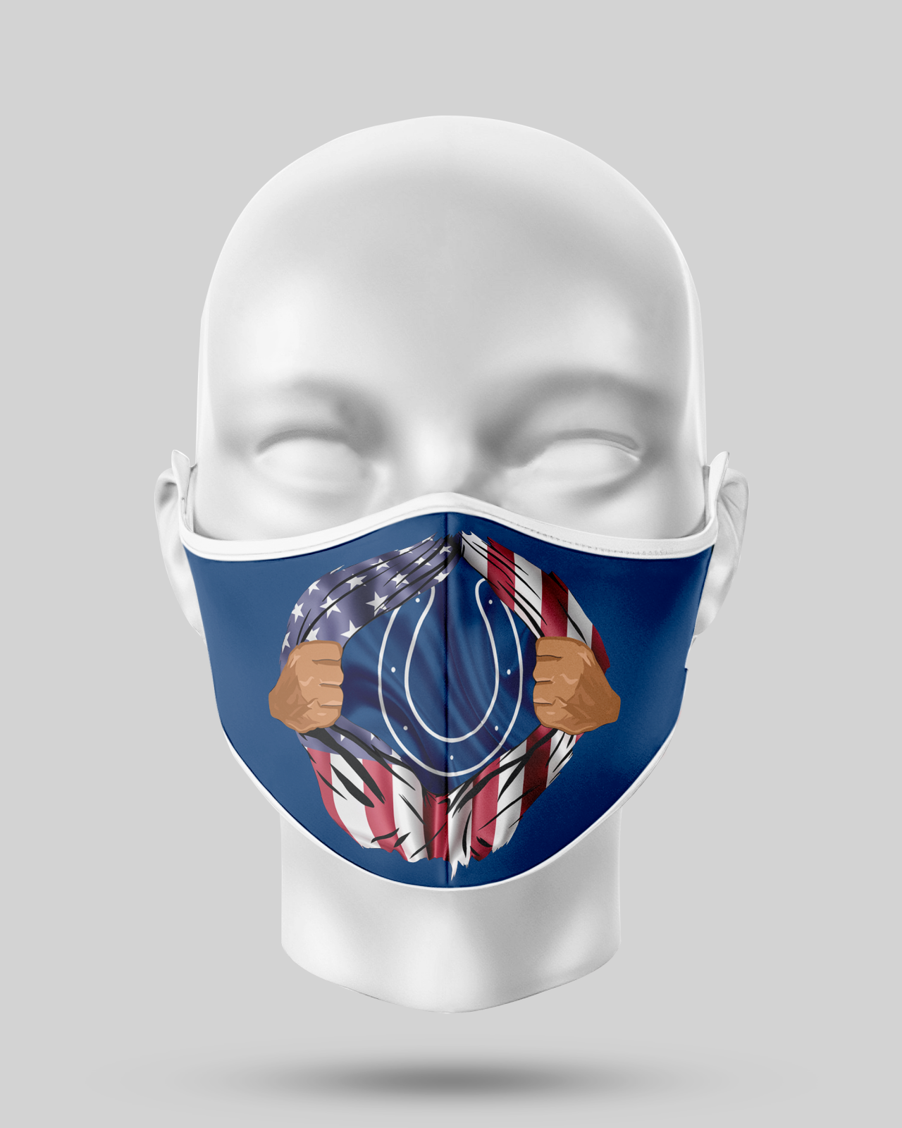 Colts Face Mask