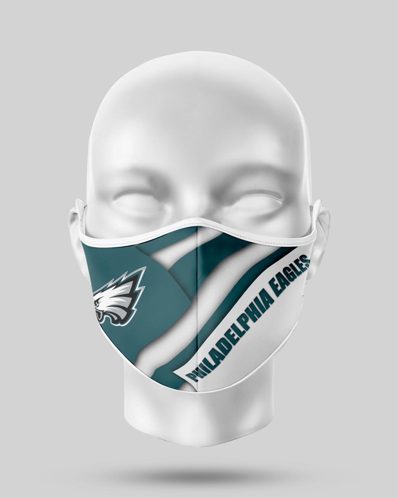 Philadelphia Eagles  Face Shield1