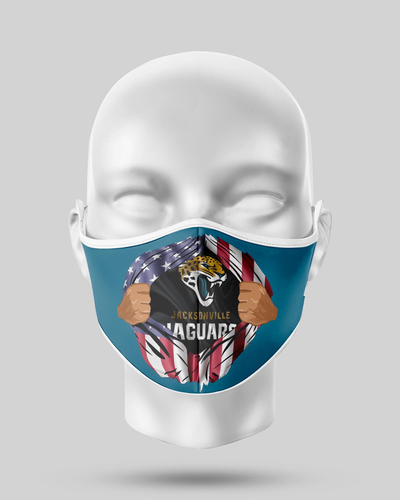Jaguars Face Mask
