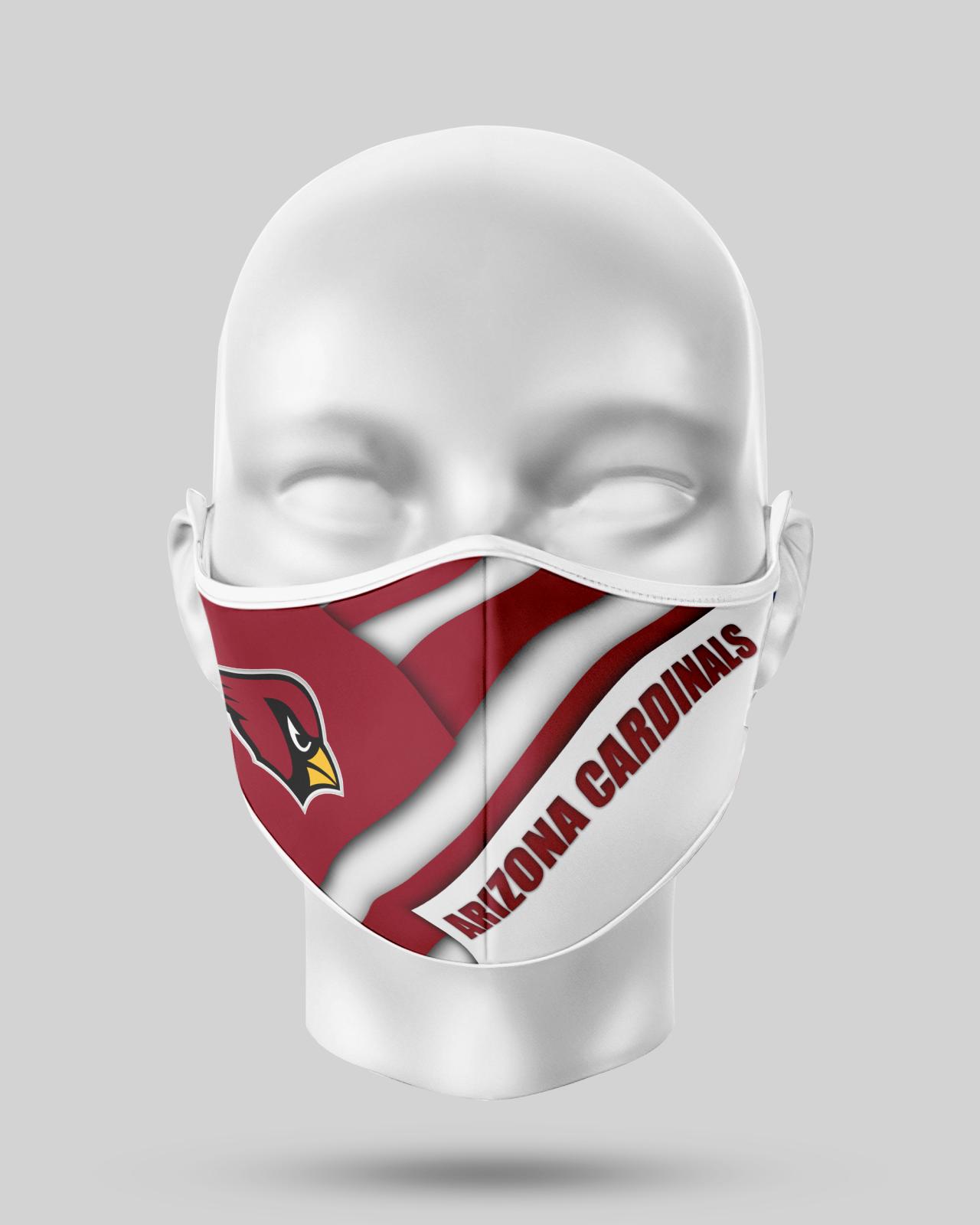 Arizona Cardinals Face Shield1