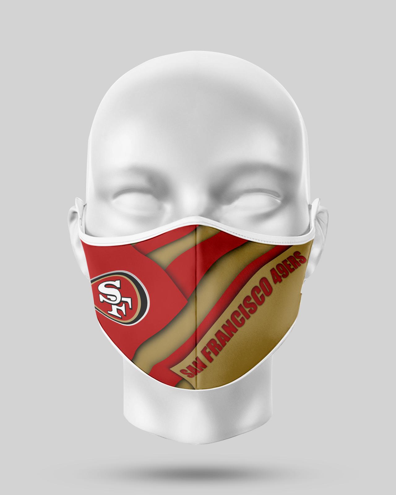 San Francisco 49ers Face Shield1