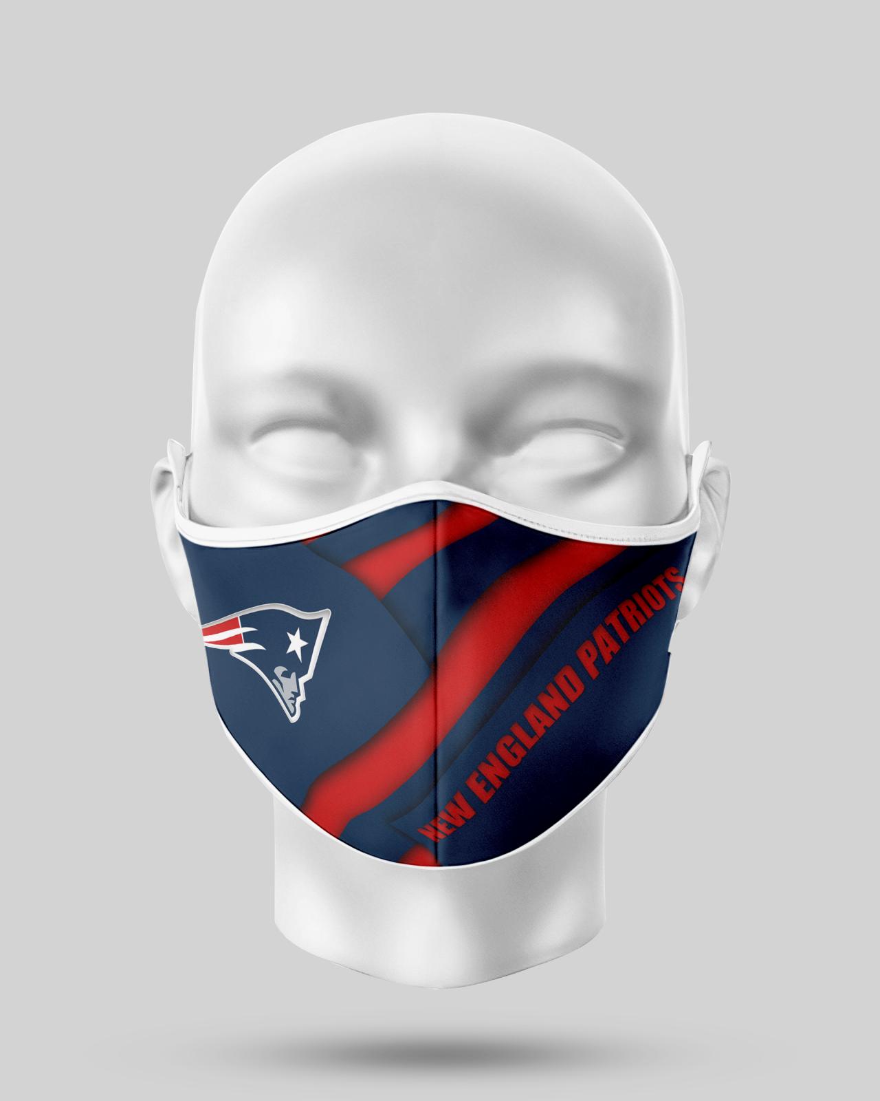 New England Patriots Face Shield1