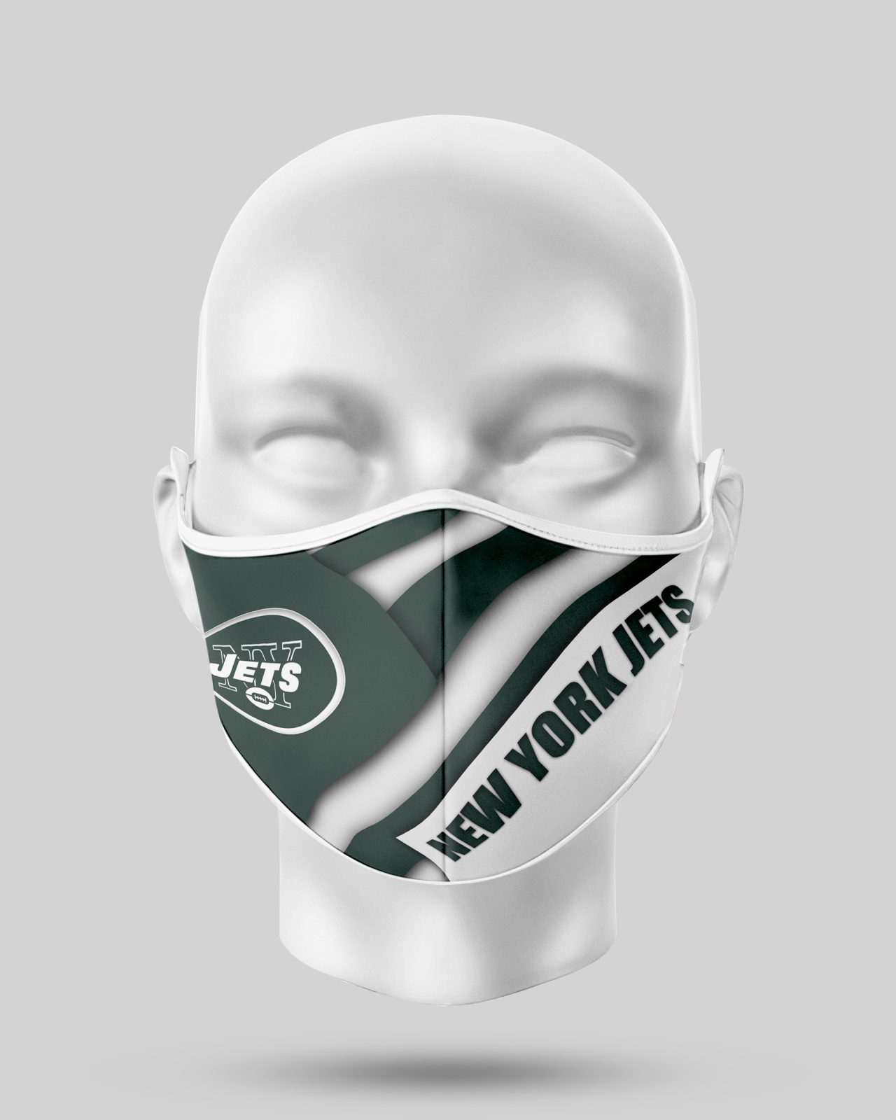 New York Jets Face Shield1