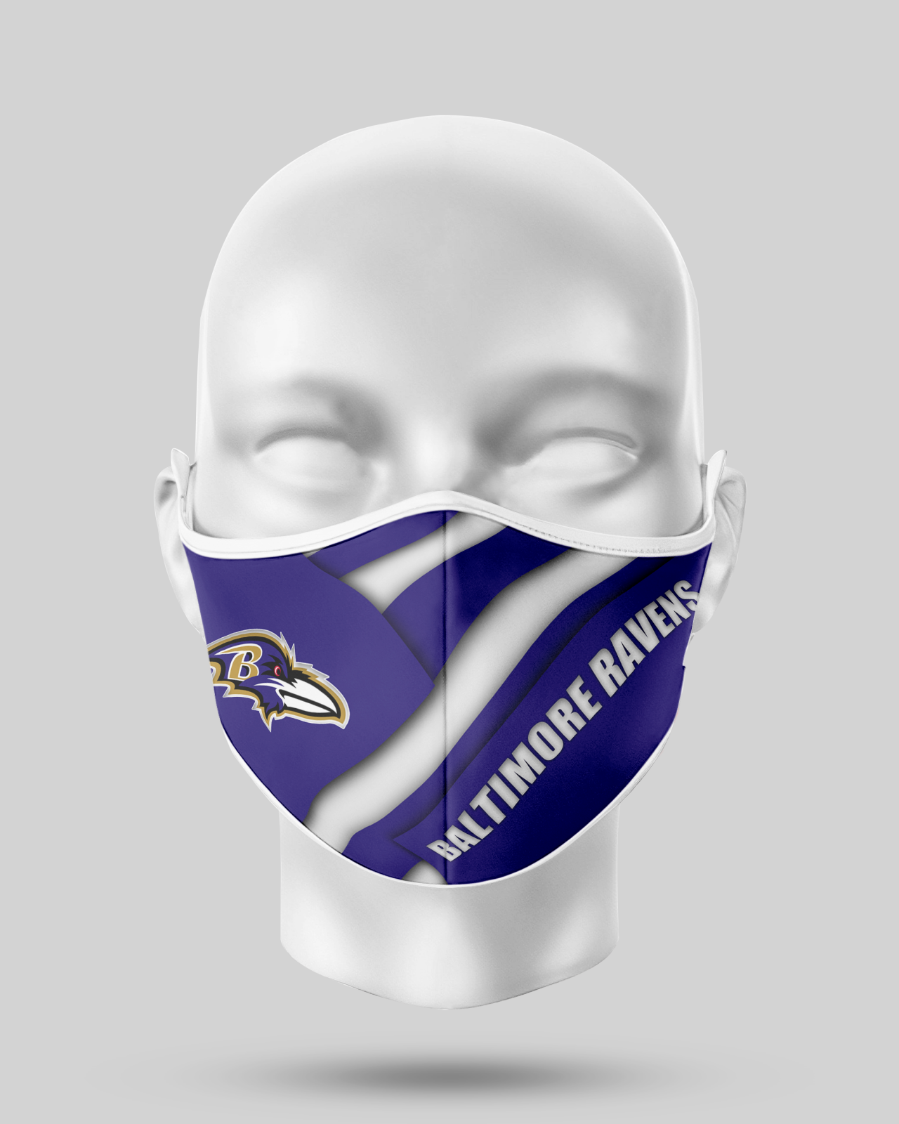 Baltimore Ravens Face Shield1