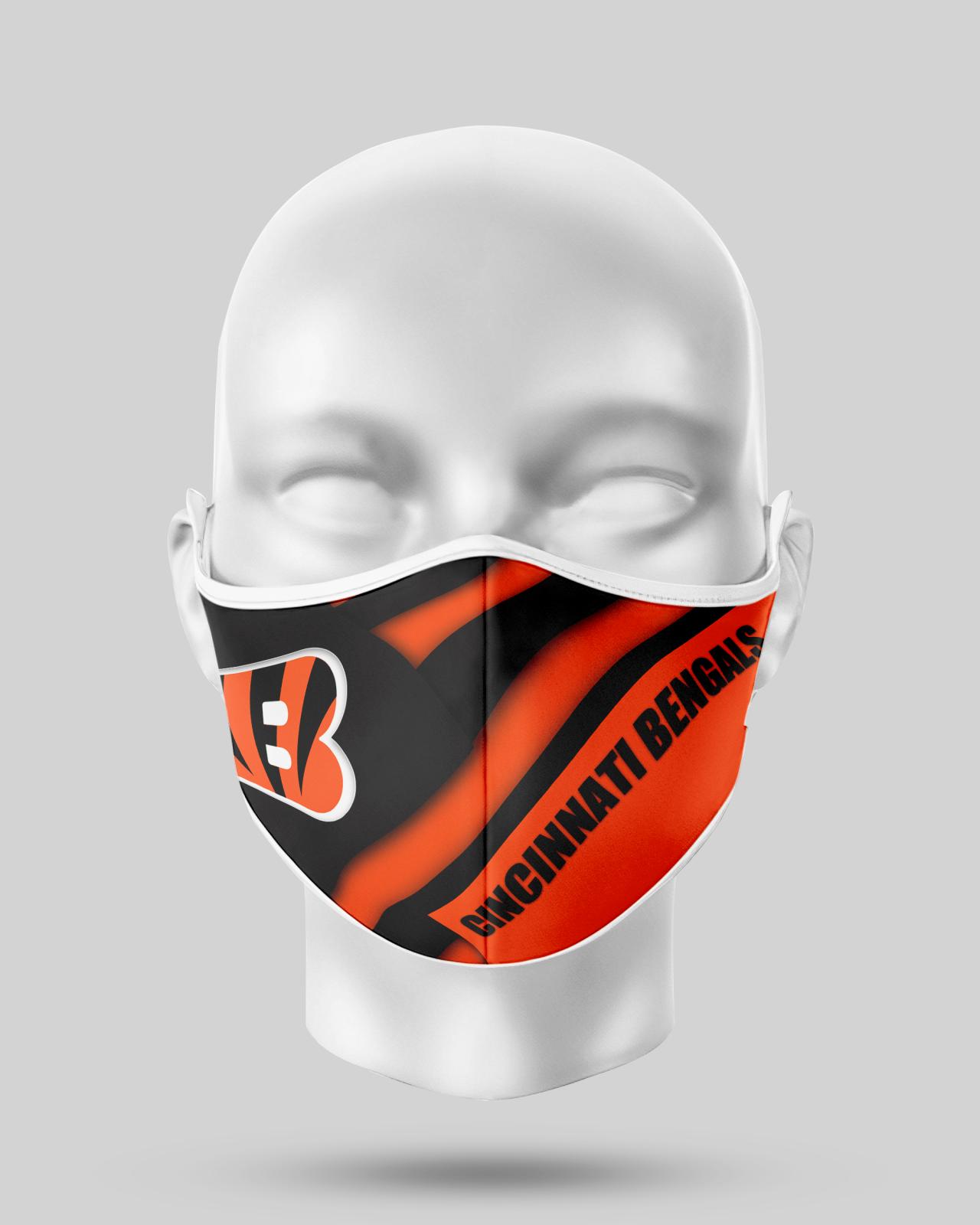 Cincinnati Bengals Face Shield1