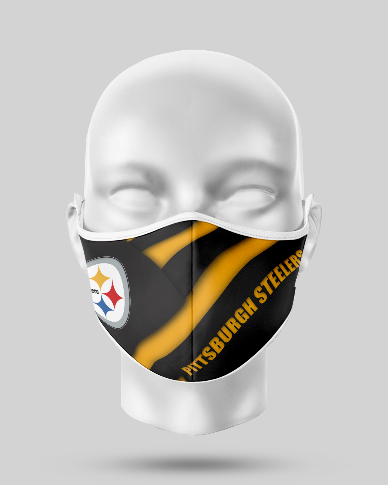Pittsburgh Steelers Face Shield1