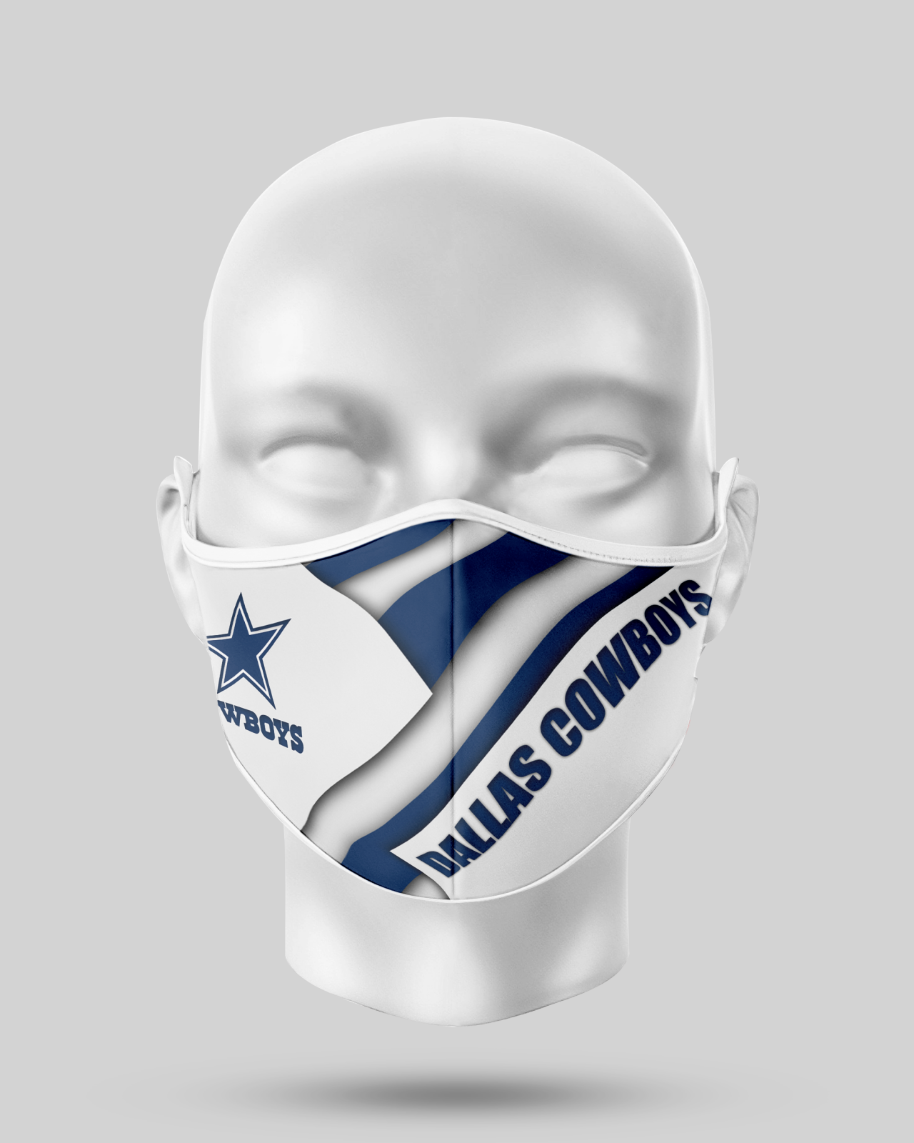 Dallas Cowboys Face Shield1
