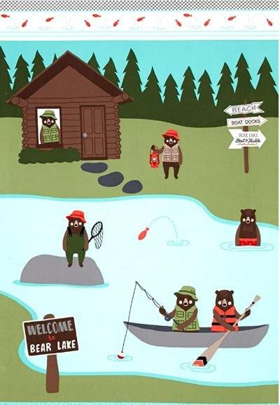 Brawny Bears Flannel Lake