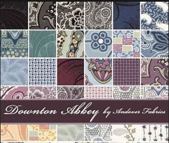 Downton Abbey - Jelly Roll Strips