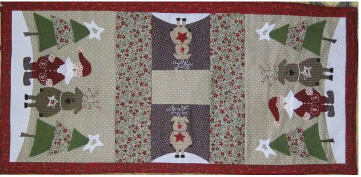 Santas Little Helper Fig 'n' Berry creations pattern