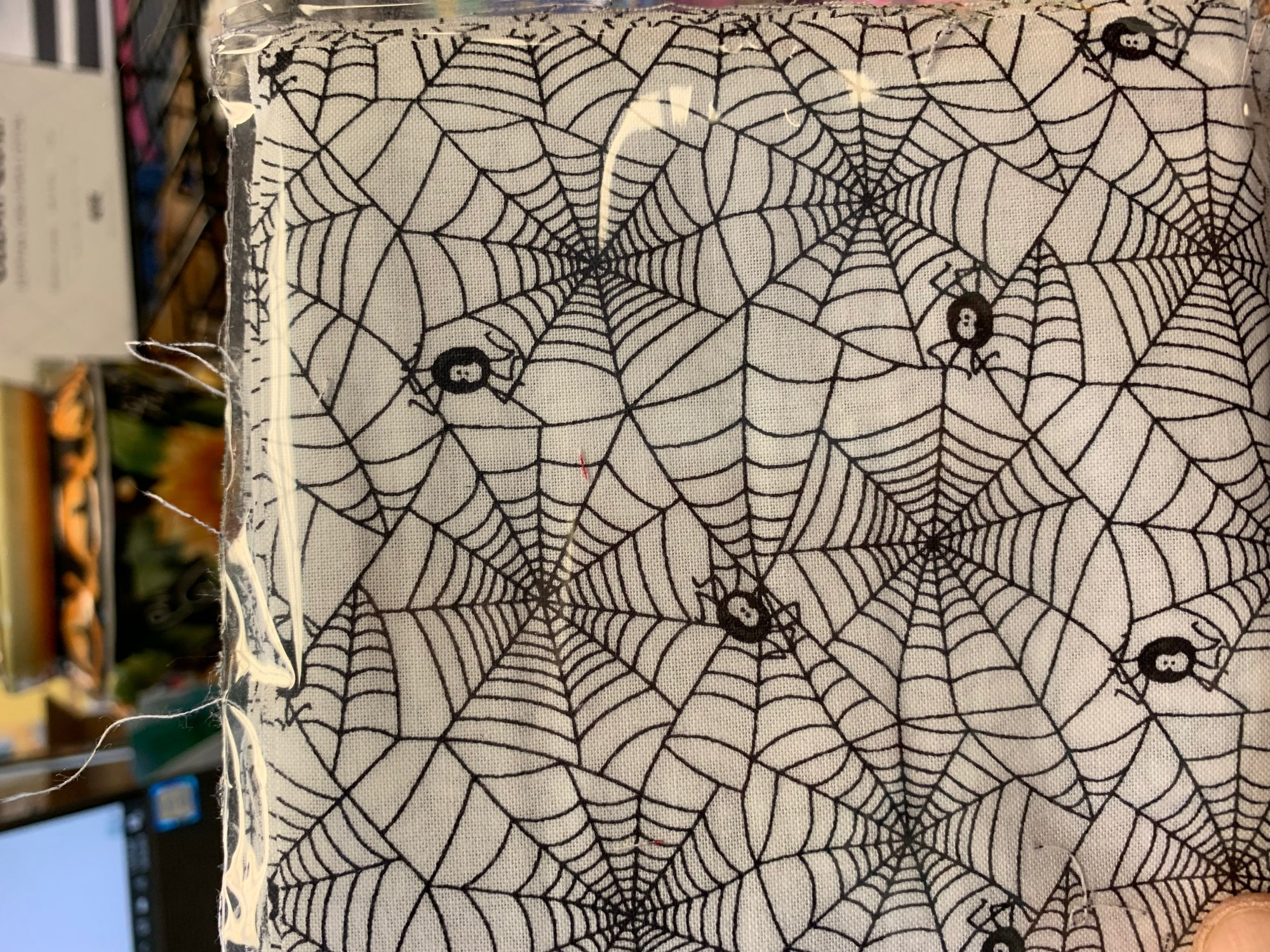 Spider Web w/spiders charms 42