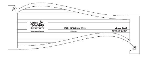 Jade Spinning Wave 12