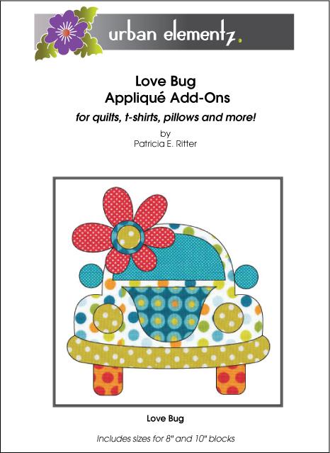 Applique - Love Bug