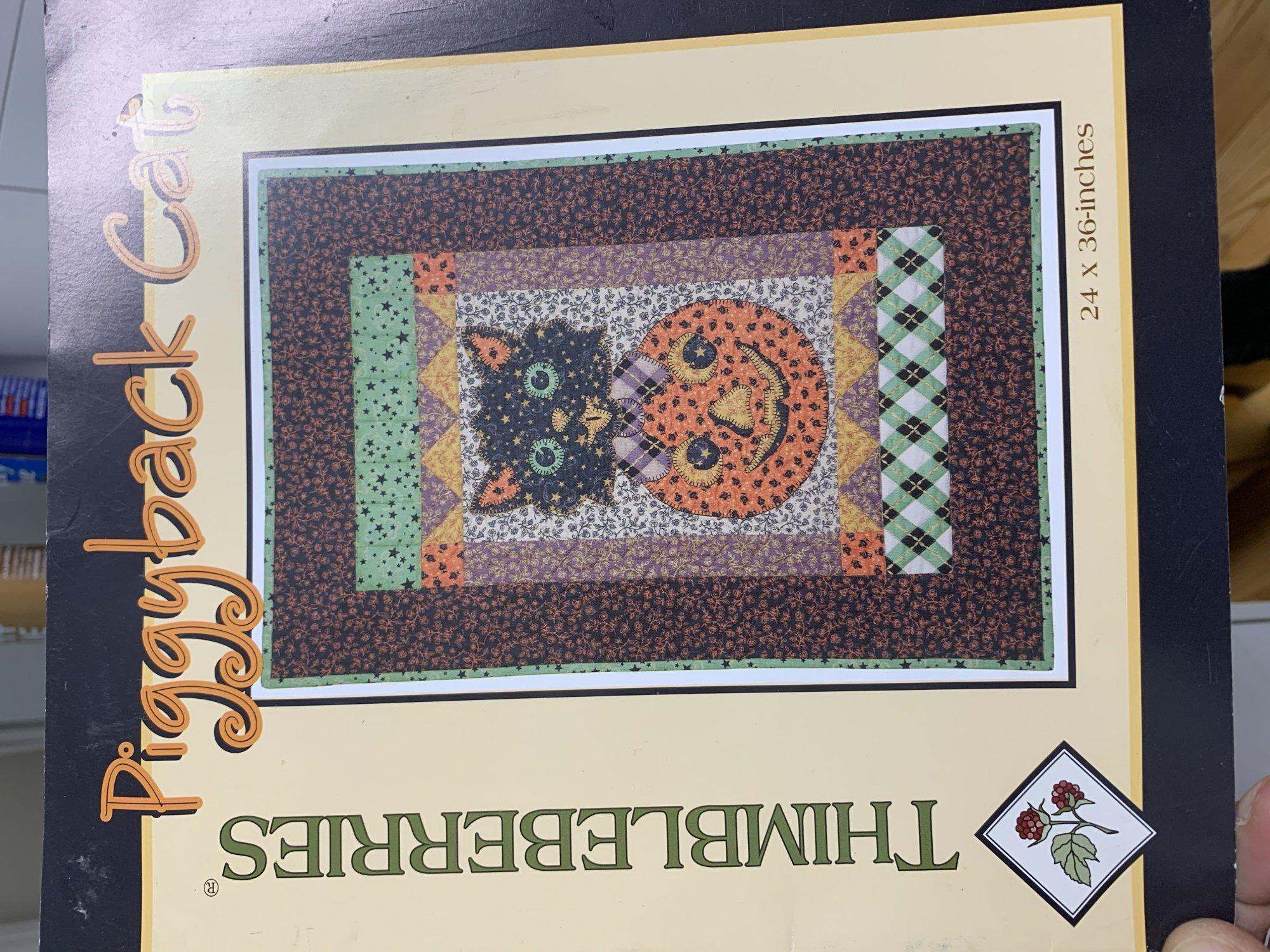 Thimbleberries Piggyback Cat