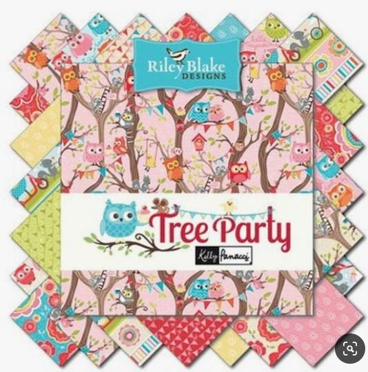 Riley Blake Tree Party - CHARMS