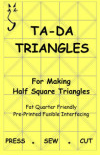 Ta-Da Fusible Interfacing Triangles 5in