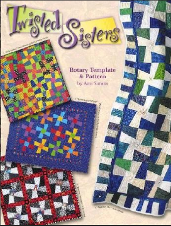 Twisted Sisters Rotary Template and Pattern