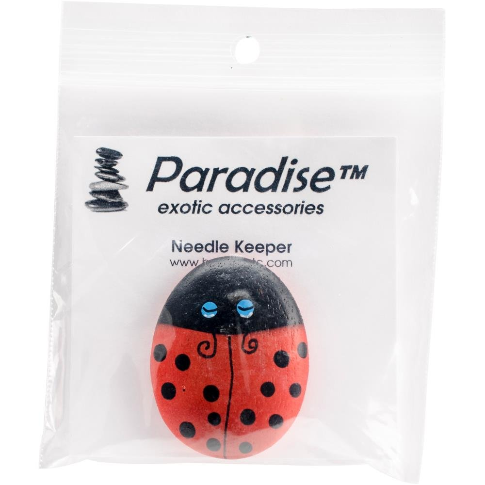 Paradise exotic accessories Wood Ladybug NK113 needle minder