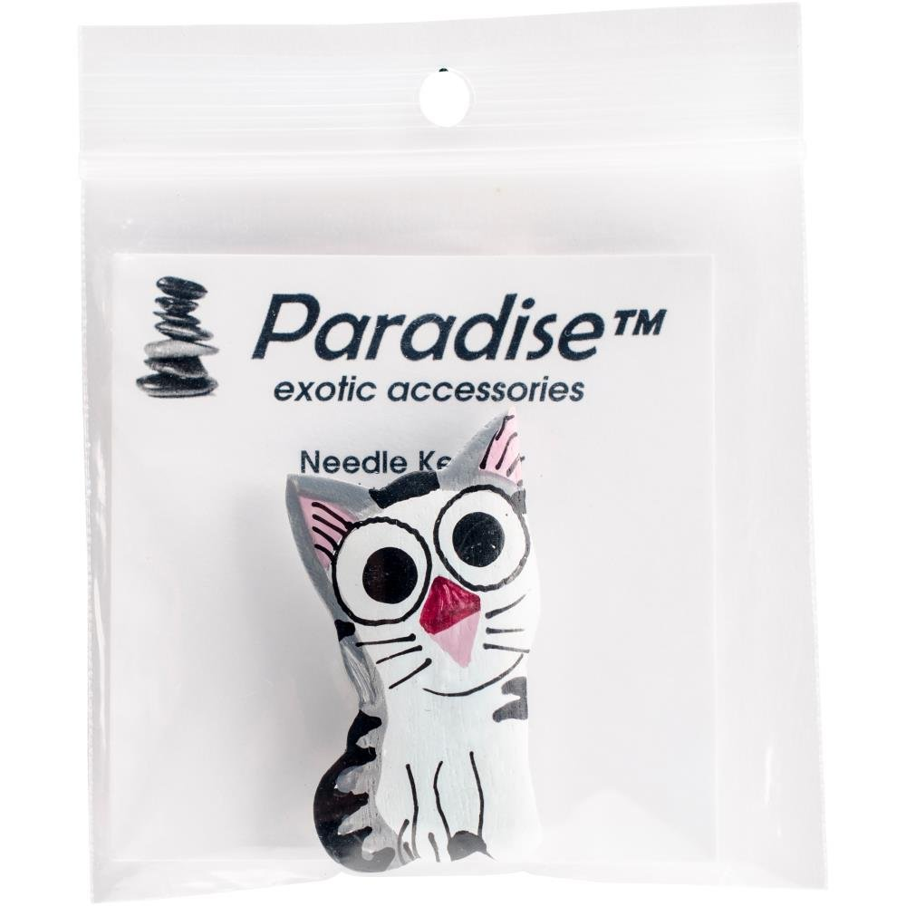 Paradise exotic accessories Wood  Cat NK116 needle minder