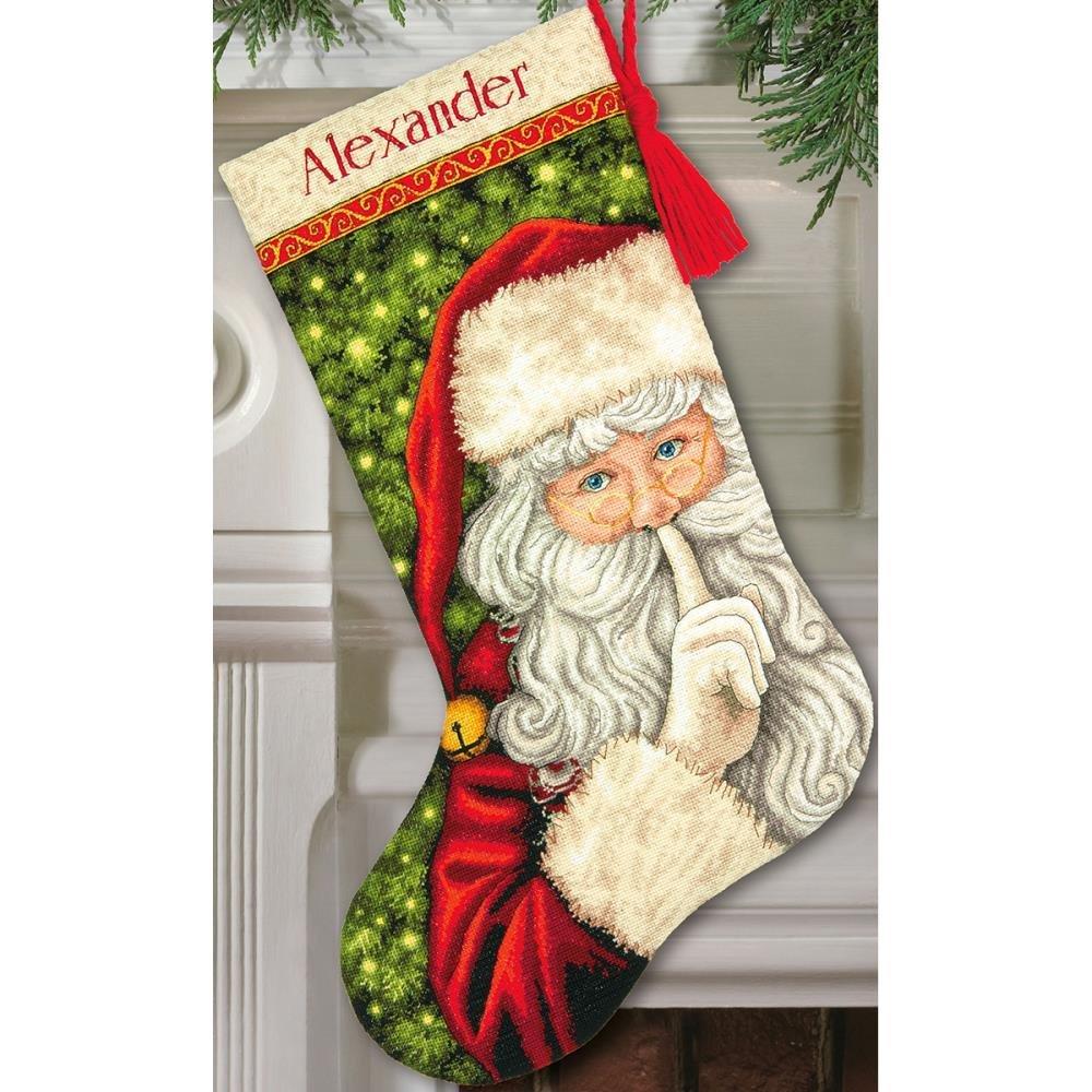 Dimensions Secret Santa Stocking kit