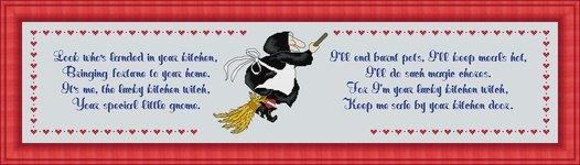 Labor of Love Designs Kitchen Witch