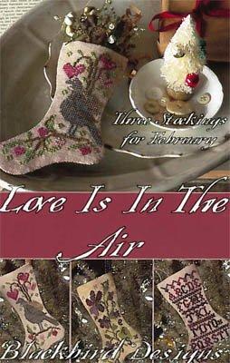 Blackbird Designs Love is the Air - February Stockings
