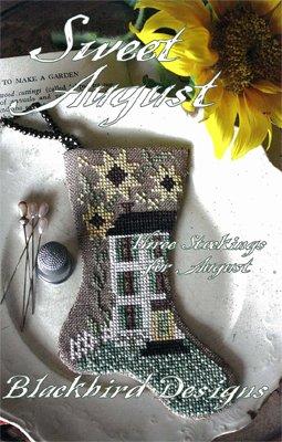 Blackbird Designs Three Stockings: Sweet August