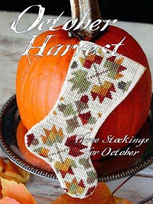 Blackbird Designs Three Stockings: October Harvest