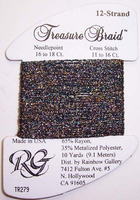Rainbow Gallery Treasure Braid TR279