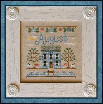 Country Cottage Needleworks Cottage Of The Month August Cottage