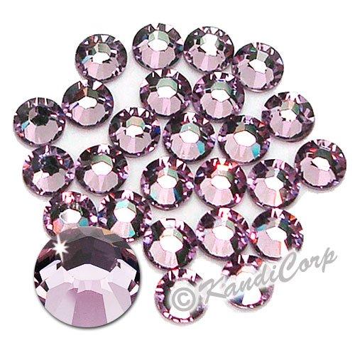 Swarovski Crystals 4mm lt amethyst  (24 pieces)