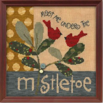 Art To Heart Meet Me Under the Mistletoe w/buttons