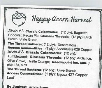 Jeannette Douglas Designs Happy Acorn Harvest acc. pack