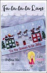 Little Stitch Girl Fa-la-la-la Lane
