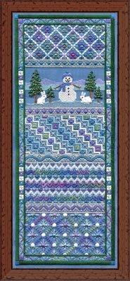 Laura J Perin Snowman Panel